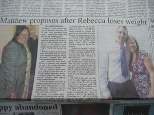Local Paper  - Weight Loss